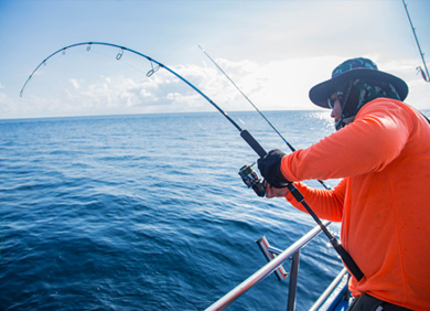 Try your luck Reef Fishing